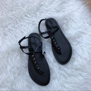 f64cd3b10250 Universal Thread Shoes - Universal Thread Black Kylianne Sandal with Studs